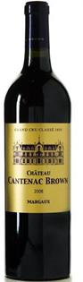 Chateau Cantenac Brown Margaux 2008 750ml
